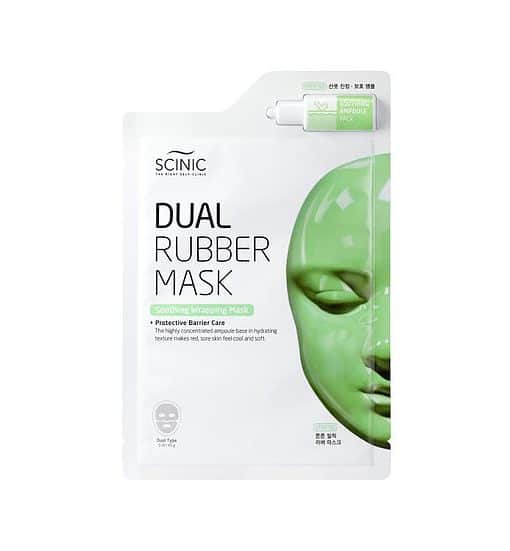 Scinic Dual Rubber Mask Soothing