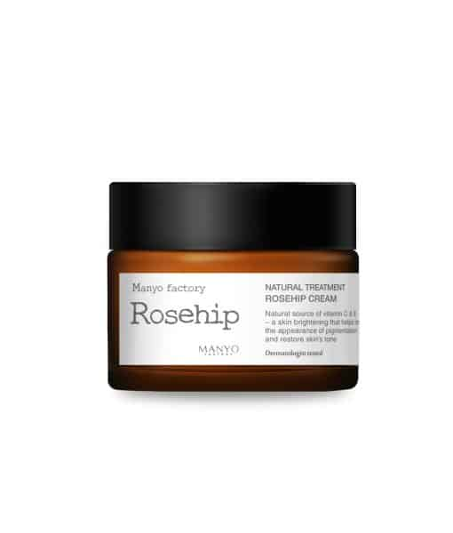 Natural Treatment Rosehip Cream