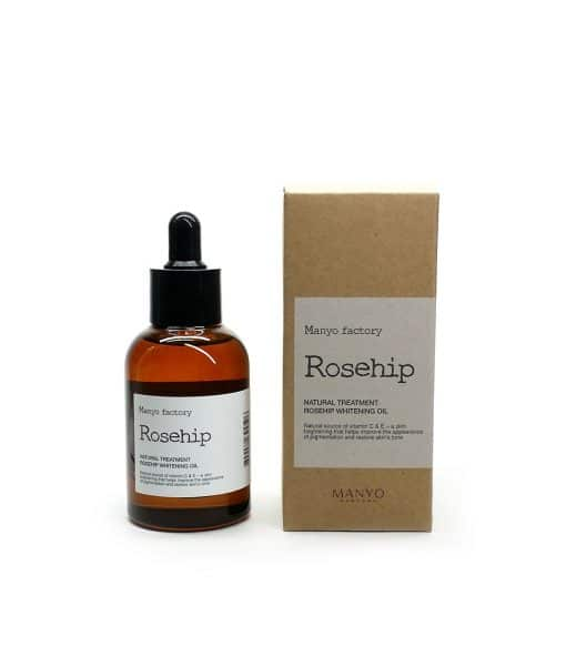 Rosehip whitening oil box